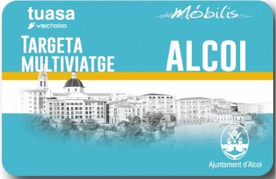 Targeta multiviatge bus Alcoi