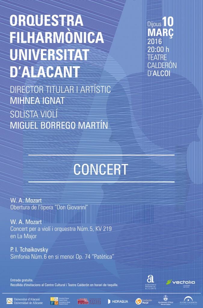 Concierto Filarmónica de la UA