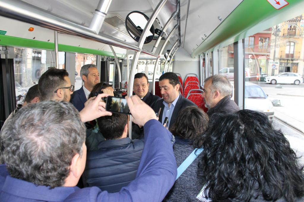 Vectalia presentación autobús híbrido-eléctrico