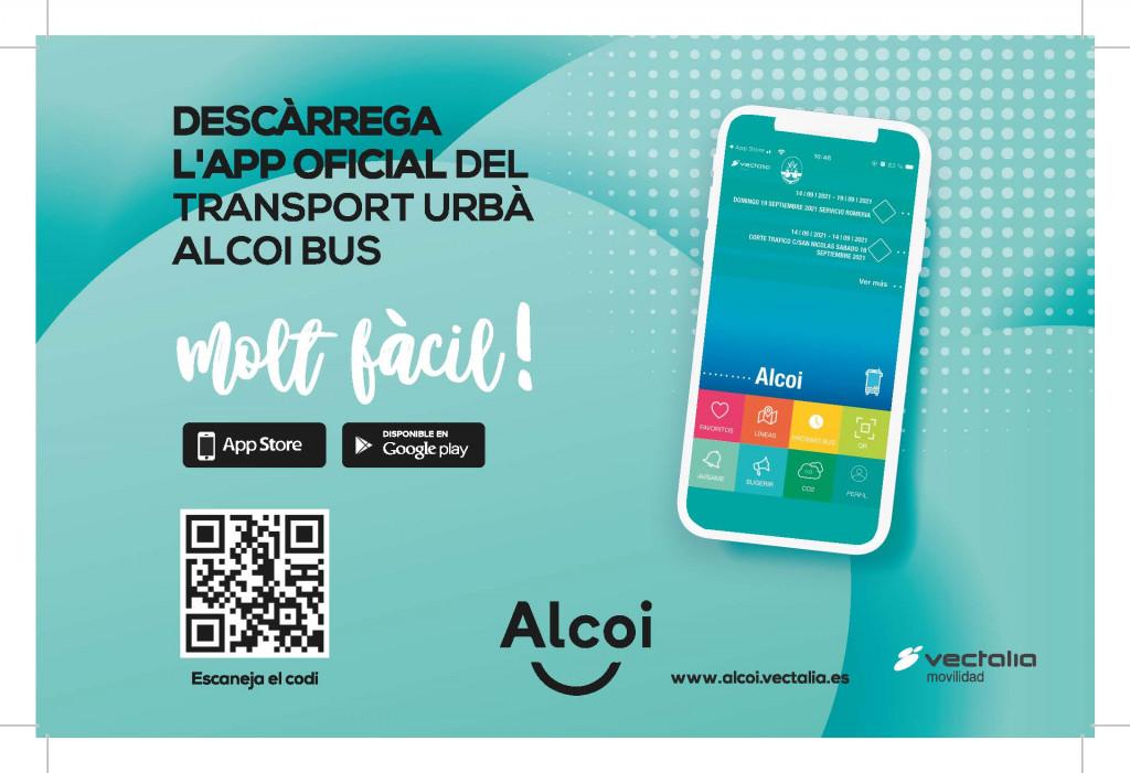 Slider Banner Alcoy bus APP